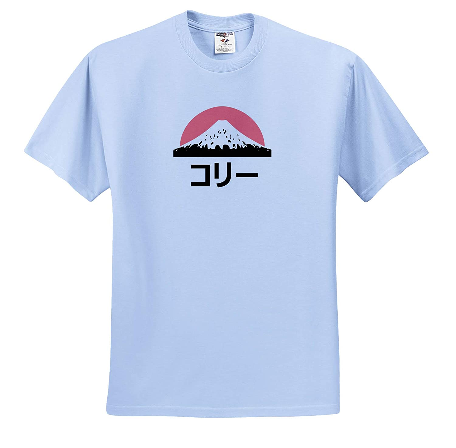 Name in Japanese ts/_320461 Adult T-Shirt XL Cory or Corey in Japanese Letters 3dRose InspirationzStore