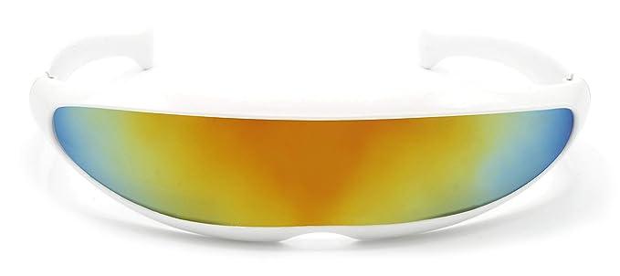 Cheapass Gafas de Sol Robocop Divertidas Gafas Festival Plangaa