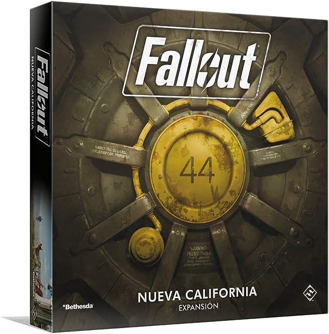 Fantasy Flight Games- Fallout: New California, Color (FFZX03 ...