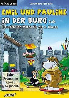 Emil und Pauline in der Burg 2.0: Deutsch und Mathe für die 1. Klasse (3803241162) | Amazon Products