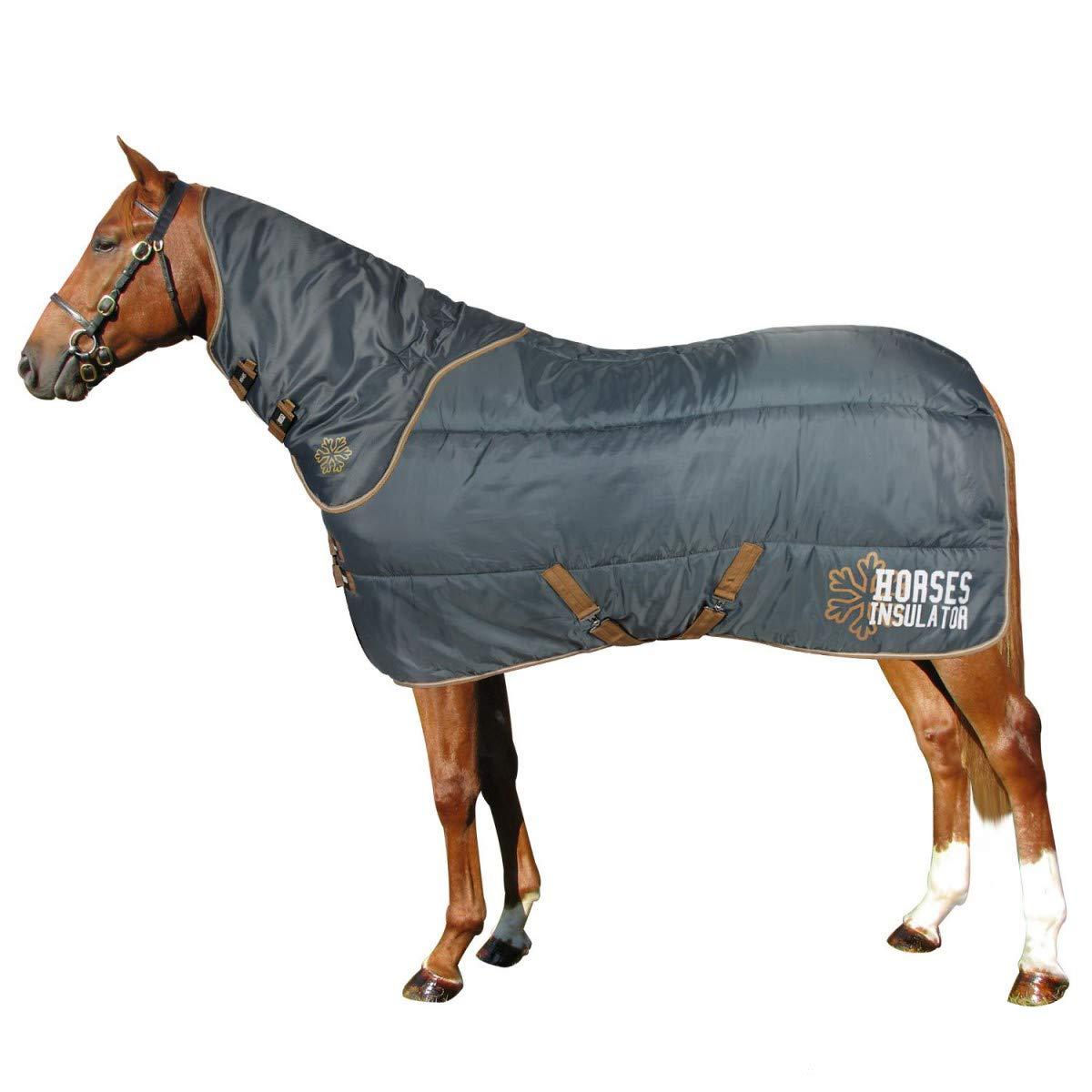 Grey 145 cm Grey 145 cm Horses Insulator Rug 550GSM