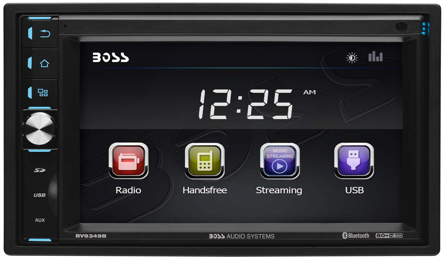 Boss Audio Bv9349b Touchscreen Bluetooth Mp3 Usb Sd Am Wiring Diagram Fm Receiver 62 Inch Digital Lcd Monitor Wireless Remote No Cd Dvd Cell Phones