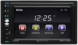 BOSS Audio BV9349B Touchscreen, Bluetooth, MP3/USB/SD AM/FM Receiver, 6.2 Inch Digital LCD Monitor, Wireless Remote (NO CD/DVD)