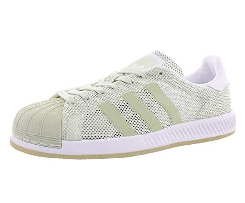7dafcba21fe2f adidas Originals Men s Superstar Bounce Easy Mint S17 Easy Mint S17 Footwear  White 8.5