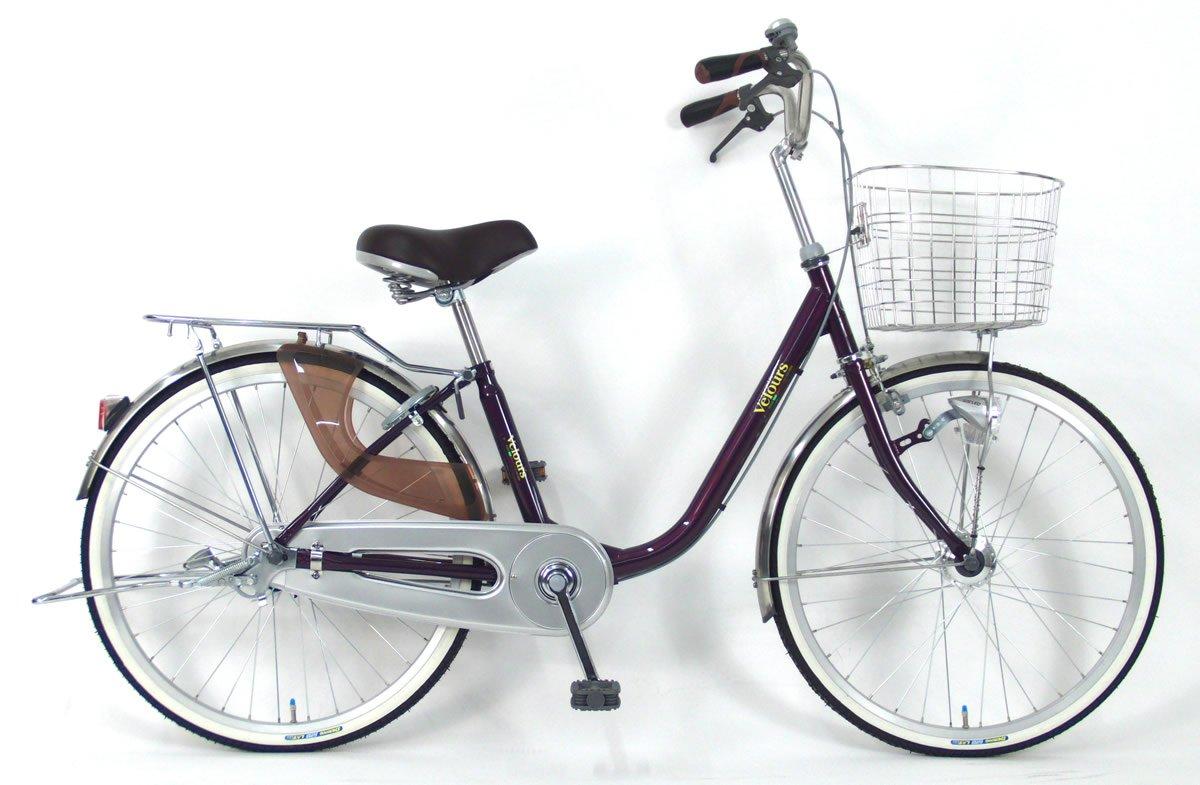 C.Dream(シードリーム) ヴェロアスペシャル VL61-SP 26インチ自転車 シティサイクル パープル 100%組立済み発送 B078V3FTBK