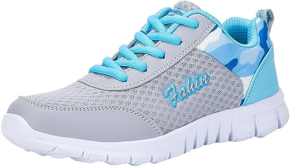Tefamore Zapatillas Deportivas de Mujer Exterior Zapatillas de Running Respirable Ligero Sneakers 3cm Calzado Deportivo 35-42: Amazon.es: Zapatos y complementos