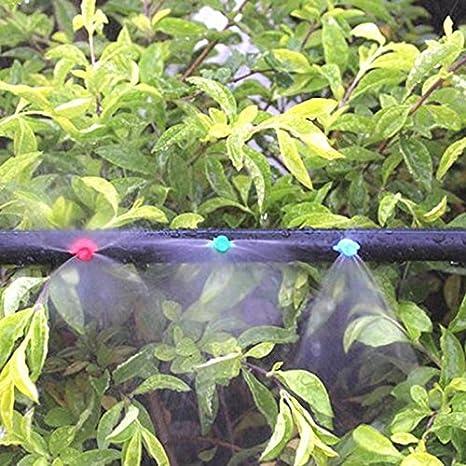 Mikro Garden Lawn Water Spray Misting Nozzle Sprinkler Irrigat NEU Watering K3U0