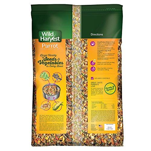 Wild Harvest Advanced Nutrition Parrot 8 Pound Bag