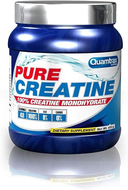 Quamtrax Nutrition Pure Creatine, Sabor Neutro - 400 gr ...
