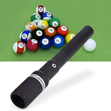 Tbest Billar Snooker Cue Extender 12.6 Pulgadas Billar Telescópico ...
