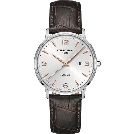 Certina DS Caimano Reloj de hombre cuarzo 39mm C035.410.16.037.01: Amazon.es: Relojes