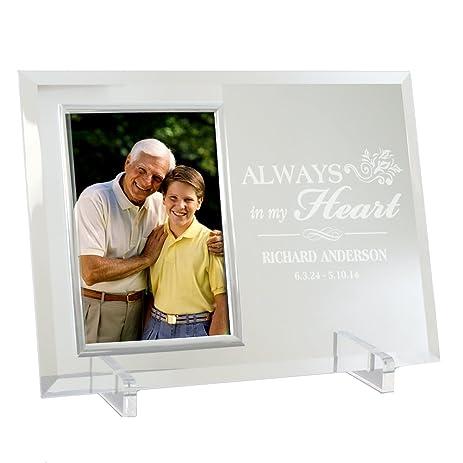 Amazon.com - Memorial Beveled Glass Frame, 8\