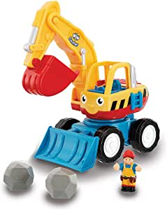 Wow Dexter The Digger - Construction (4 Piece Play Set)