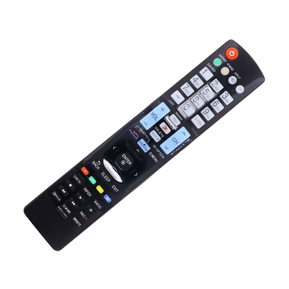 New Replacement LG 42LT560E 42LT670H 42LT670HUA 42LT770H TV Remote Control