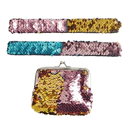 Fzitimx Childrens Gift Two-color Reversible Sequins Patted ...