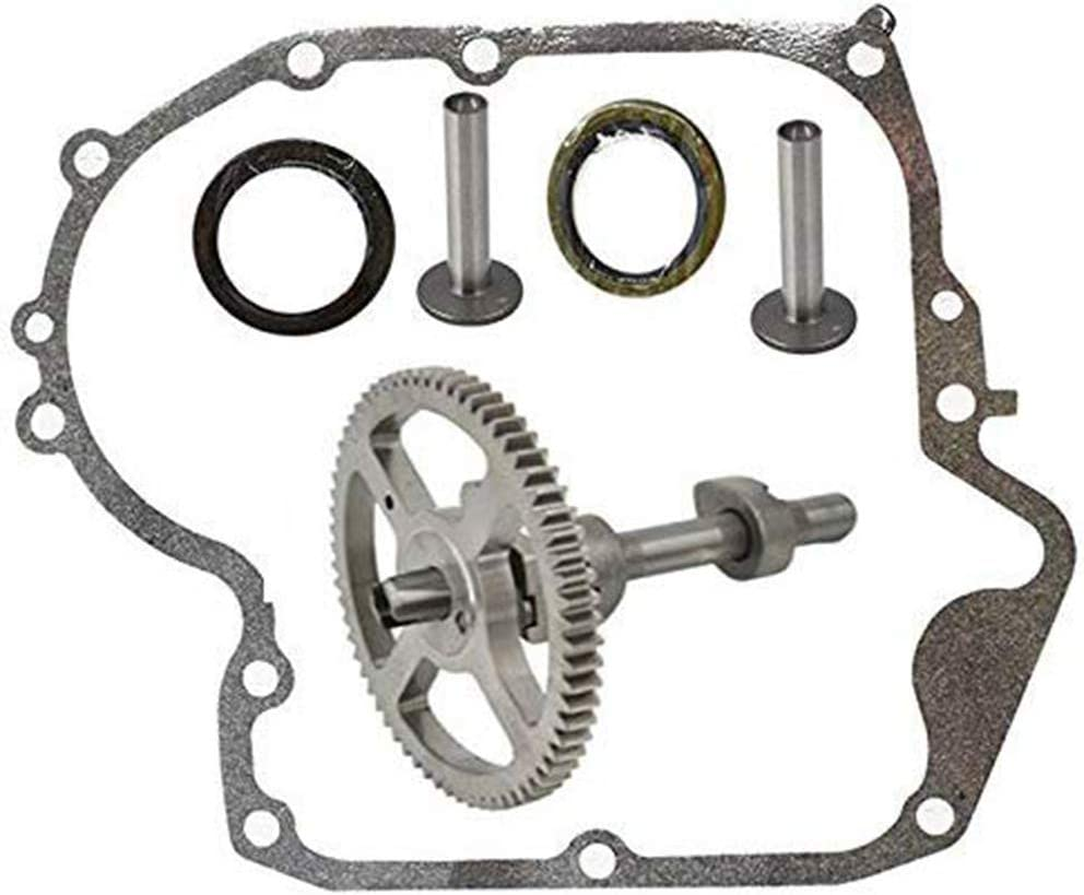 Karen 793880 Camshaft Plus Sump Camshaft Kit with 697110 Gasket, for Briggs and Stratton 793880 793583 792681, 795387 Oil Seal Ring,Connecting Rods
