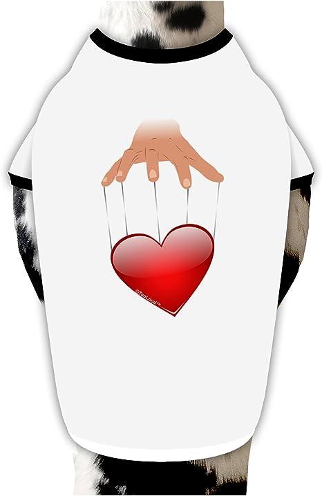 TooLoud Heart on Puppet Strings Infant T-Shirt Dark