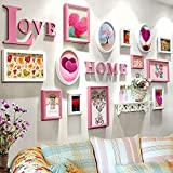 Photo frames wall / combination bedroom living room wall photo wall / love photo wall 13 box 202 102cm