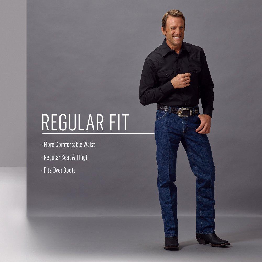 172c1e36 Amazon.com: Wrangler Men's Premium Performance Advanced Comfort Cowboy Cut  Reg Jean: Clothing