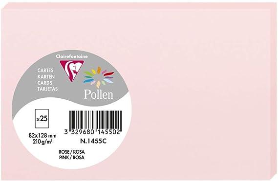 Karte Pollen 82x128 lavendelblau