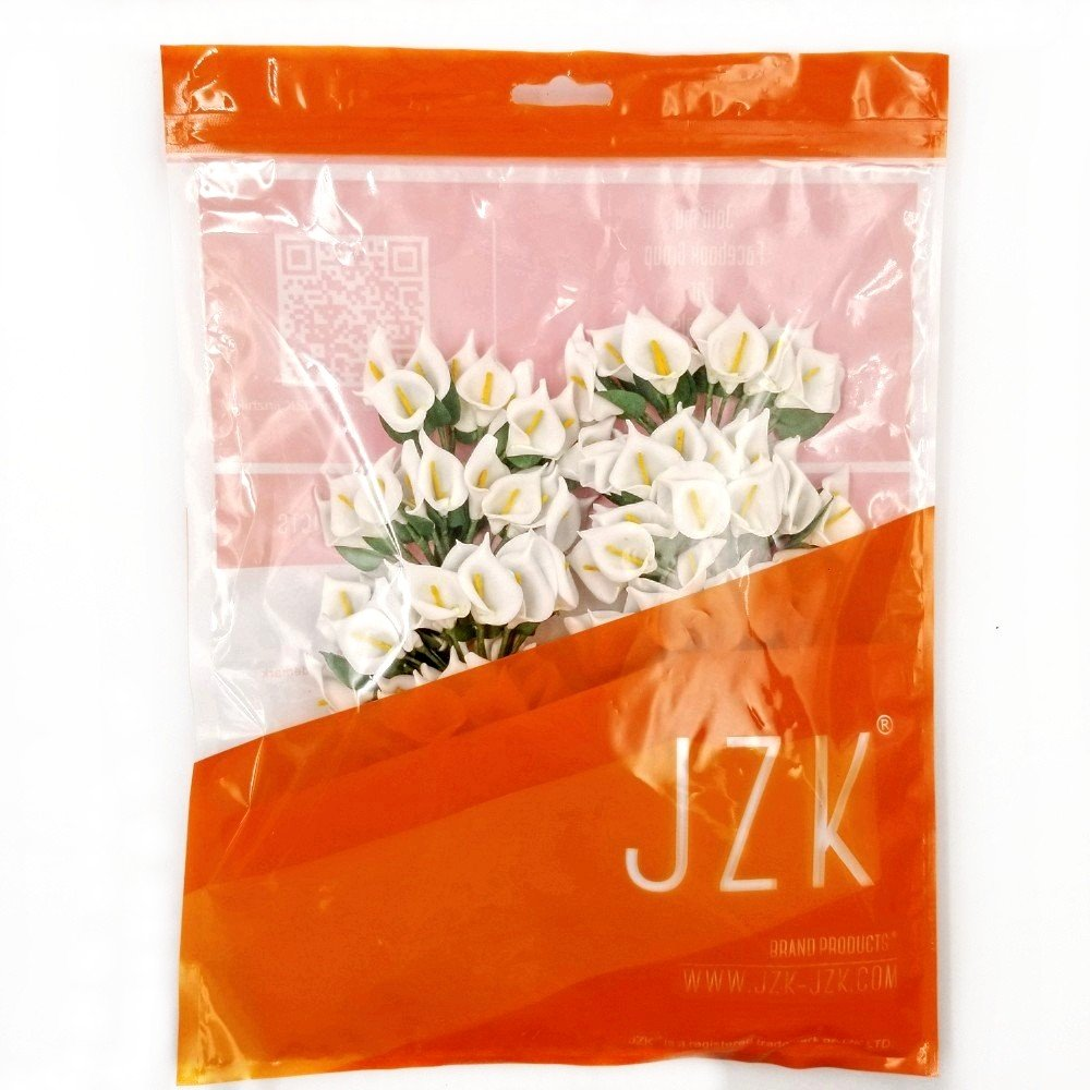 Jzk 144 Foam Blue Calla Lily Small Artificial Flowers For Crafts