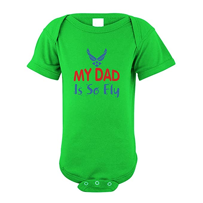Amazon Com Cute Rascals My Daddy Is So Fly Air Force Cotton