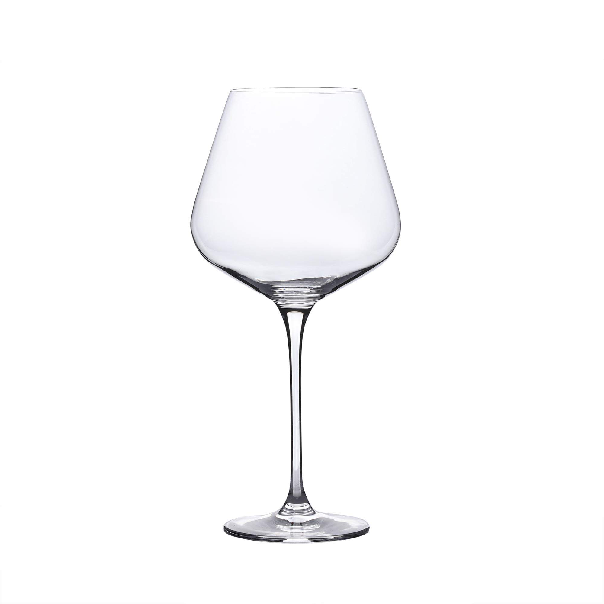 Red Wine Glasses - Crystal Glass - Lead Free - Wine Glasses Set of 4 (29 Ounce) by WH Housewares (Image #2)