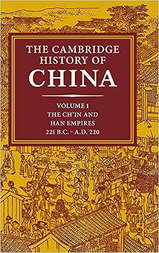 Cambridge History of China cover art