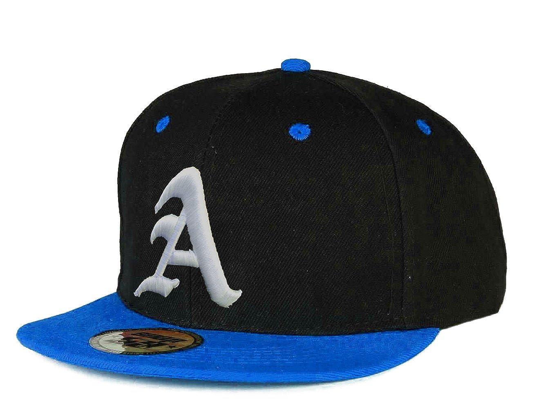 Morefaz New Snapback Cap Baseball Unisex Men Women Flexfit Gothic 3D Letter A Hat Caps MFAZ Ltd Black