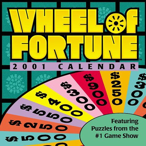 Wheel of Fortune 2001 Calendar: Amazon in: Office Products