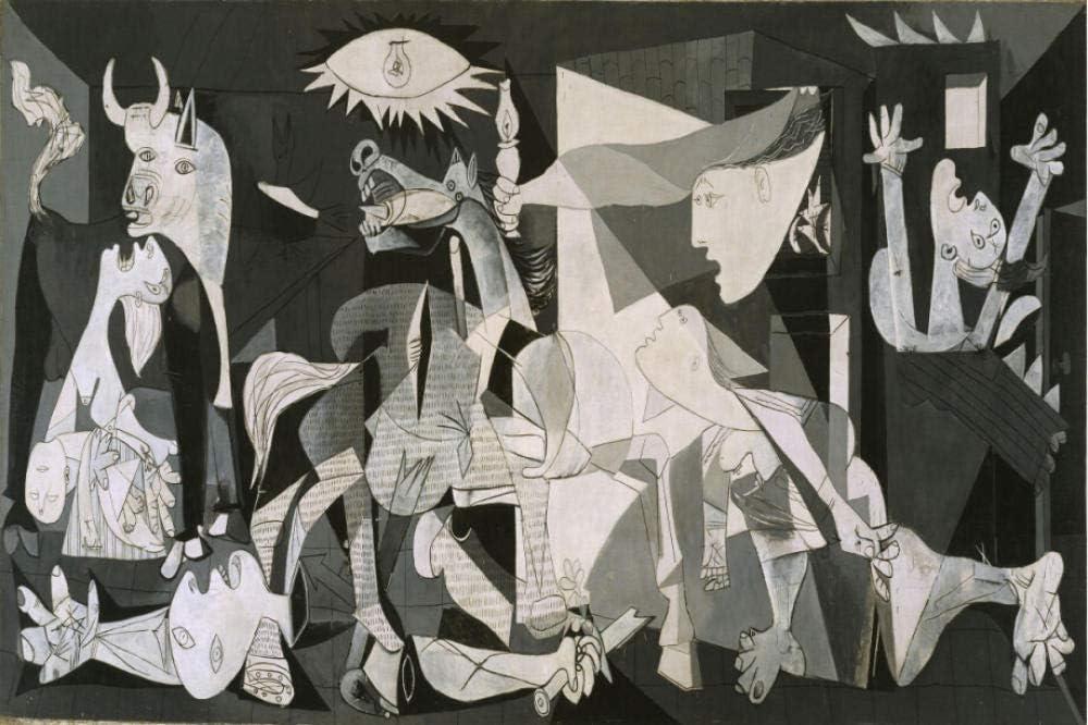 MTAMMD Puzzles Adulto 500 1000 1500 Piezas Rompecabezas De Madera Juguete Educativo Mundialmente Famoso Pintura Pintura Al Óleo Pintura Decorativa Guernica