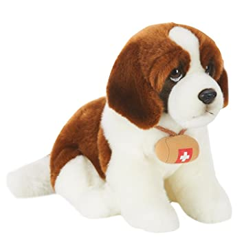 Toys R Us Plush 10 inch St. Bernard Dog - Brown and White by Toys