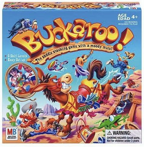 B0006216GO Hasbro Gaming Buckaroo 61SX35DGP9L.