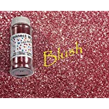 Blush, Extra Fine Poly Glitter 1/128, 4oz Shaker Bottle