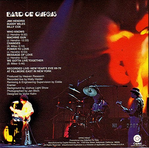 Band Of Gypsys (Mini-LP) by Capitol Records