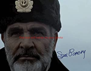Sean Connery The Hunt for Red October Autographed 11x14 Poster Preprint Photo
