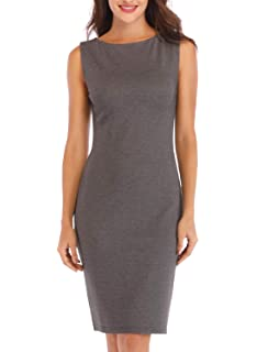 646747d9e18f Women's Elegant Dress - Saihui Vintage Sleeveless V Neck Wear to ...