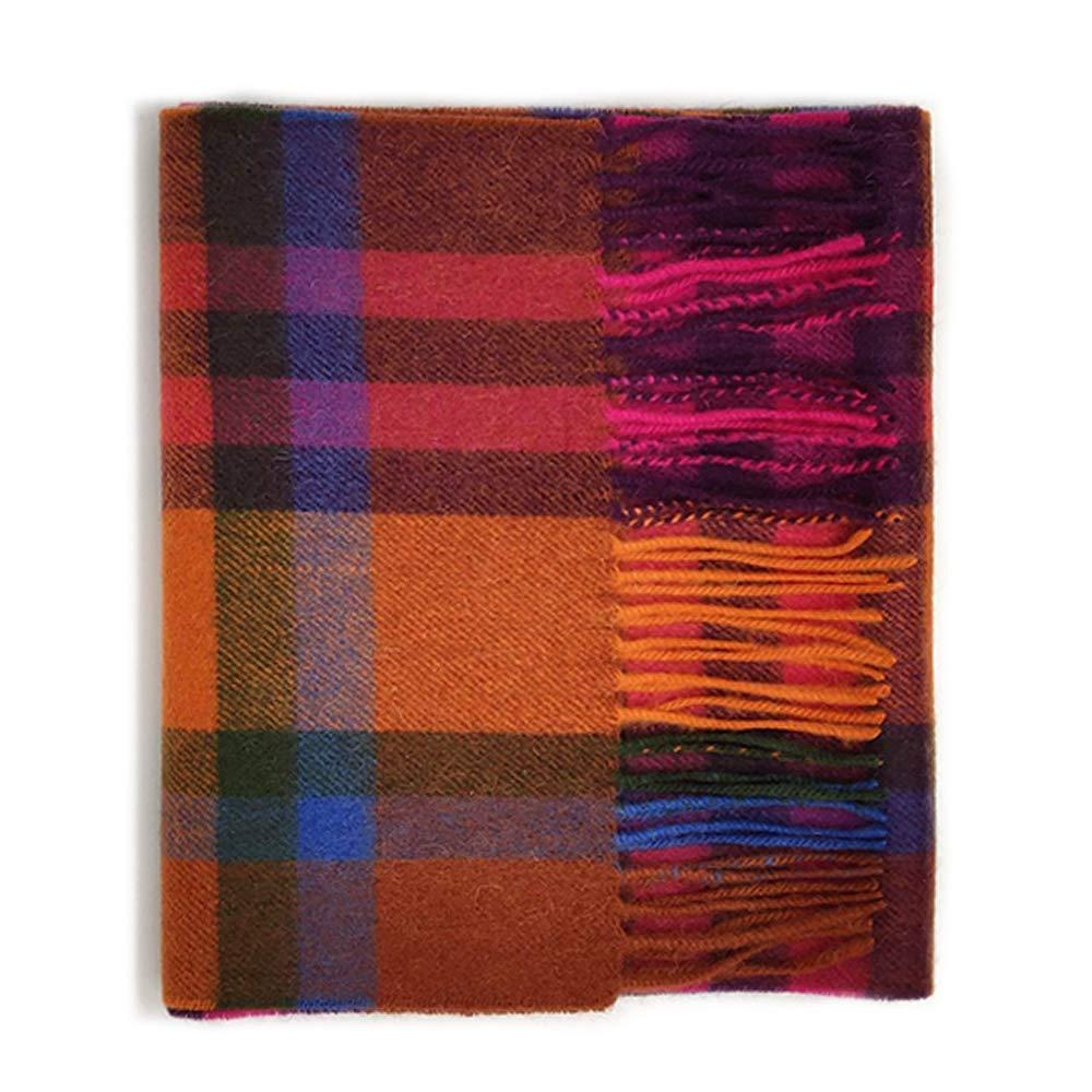 Kiltane of Scotland 100% Lambswool Ultra Soft Touch Tartan Scarf- Designed in Scotland (17710- Tartan 2 Red/Orange Spice) by Kiltane of Scotland
