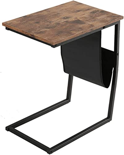 SANGDA Industrial Side Table,Sofa Side Table End Table