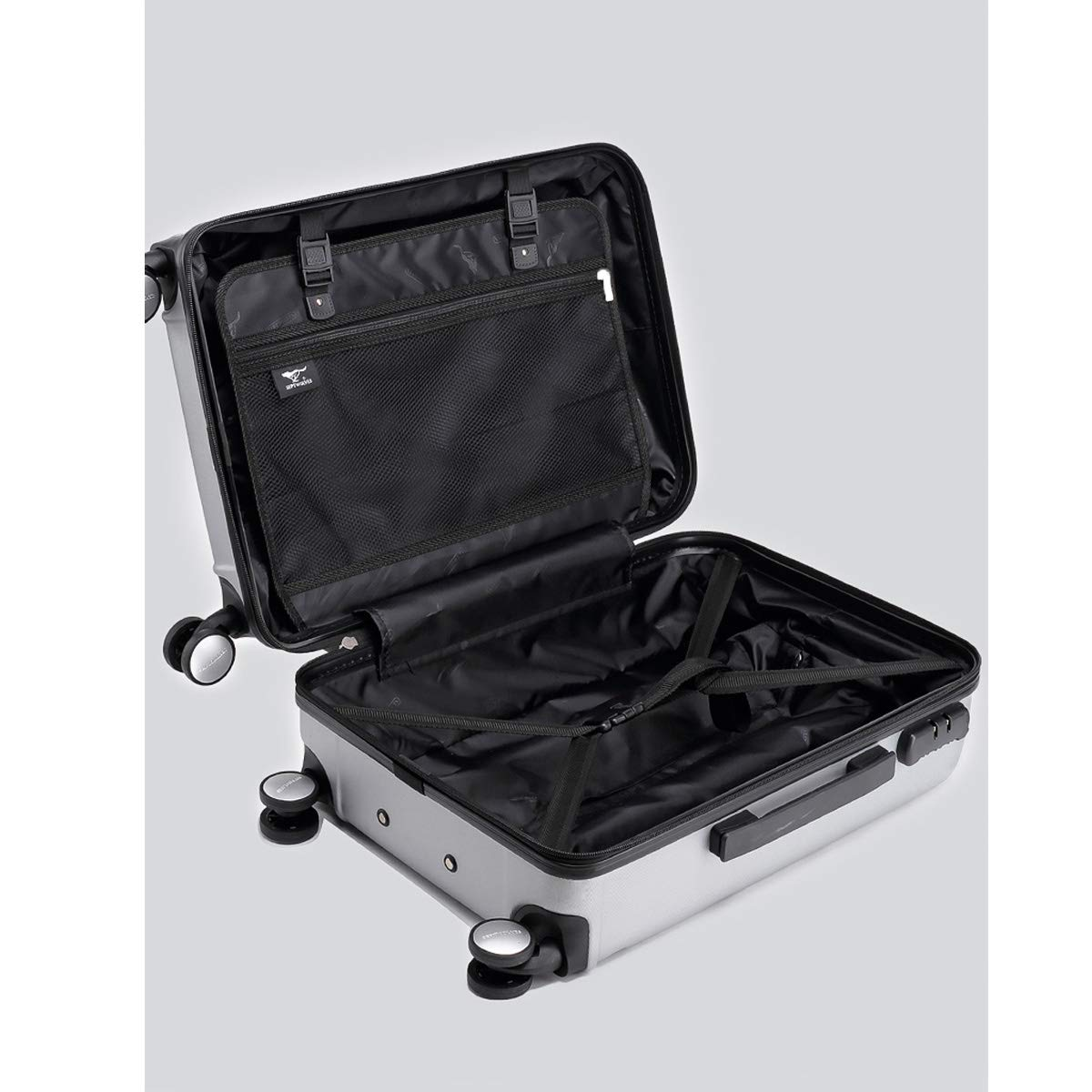 Simple Simple Travel Organizer Color : Black, Size : 24 Huijunwenti Soft Travel Bag 20//24 inch The Latest Style Trolley case