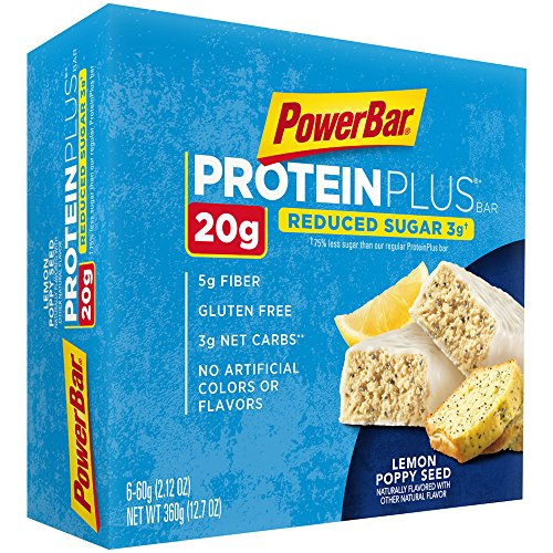 powerbar-reduced-sugar-protein-plus-bars-lemon-poppyseed-20g-protein-6-count