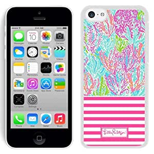Lovely Lilly Pulitzer 19 iPhone 4 4s 5th Generation White Cell Phone Case