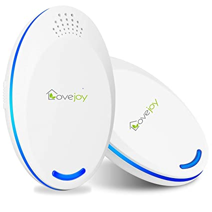 Lovejoy Ultrasonic Pest Repeller 2019, Non-Toxic Plug in Repellent, Safe  Pest Control for Pets and Humans, Get Rid of Mosquitoes,Spiders, Insects,  Bed