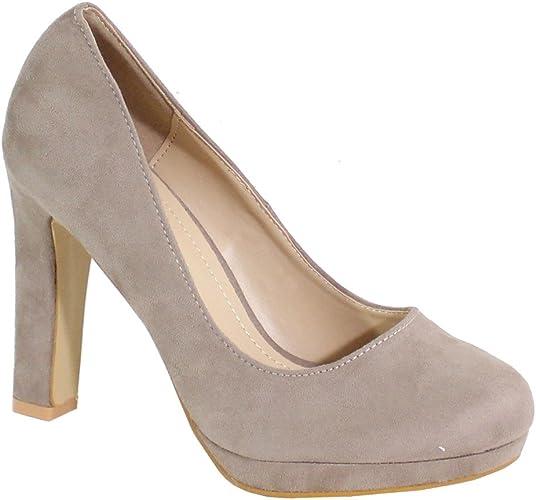 TALLA 36 EU. By Shoes - Zapatos de Tacón para Mujer