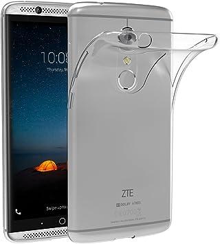 AICEK Funda ZTE Axon 7, ZTE Axon 7 Funda Transparente Gel Silicona ...