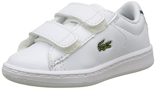 5a1244022 Lacoste Unisex Babies  Carnaby Evo Bl 1 SPI Wht NVY Sneakers  Amazon ...