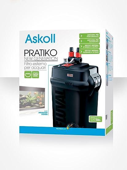 Pratiko Askoll 300 New Generation-Filtro Para Acuarios Externo Hasta 300 Litros