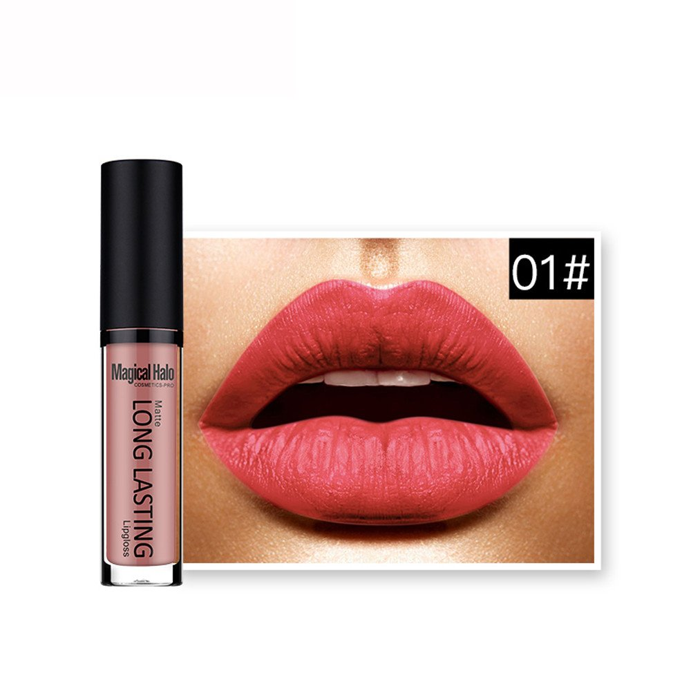 Clearance Sale Lipsticks, BESTOPPEN Waterproof Matte Liquid Lipstick Long Lasting Lip Gloss Lipstick (J)