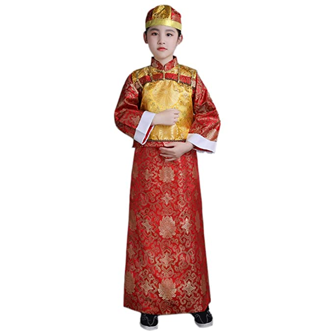 Amazon.com: Ez-sofei - Vestido tradicional chino para niños ...