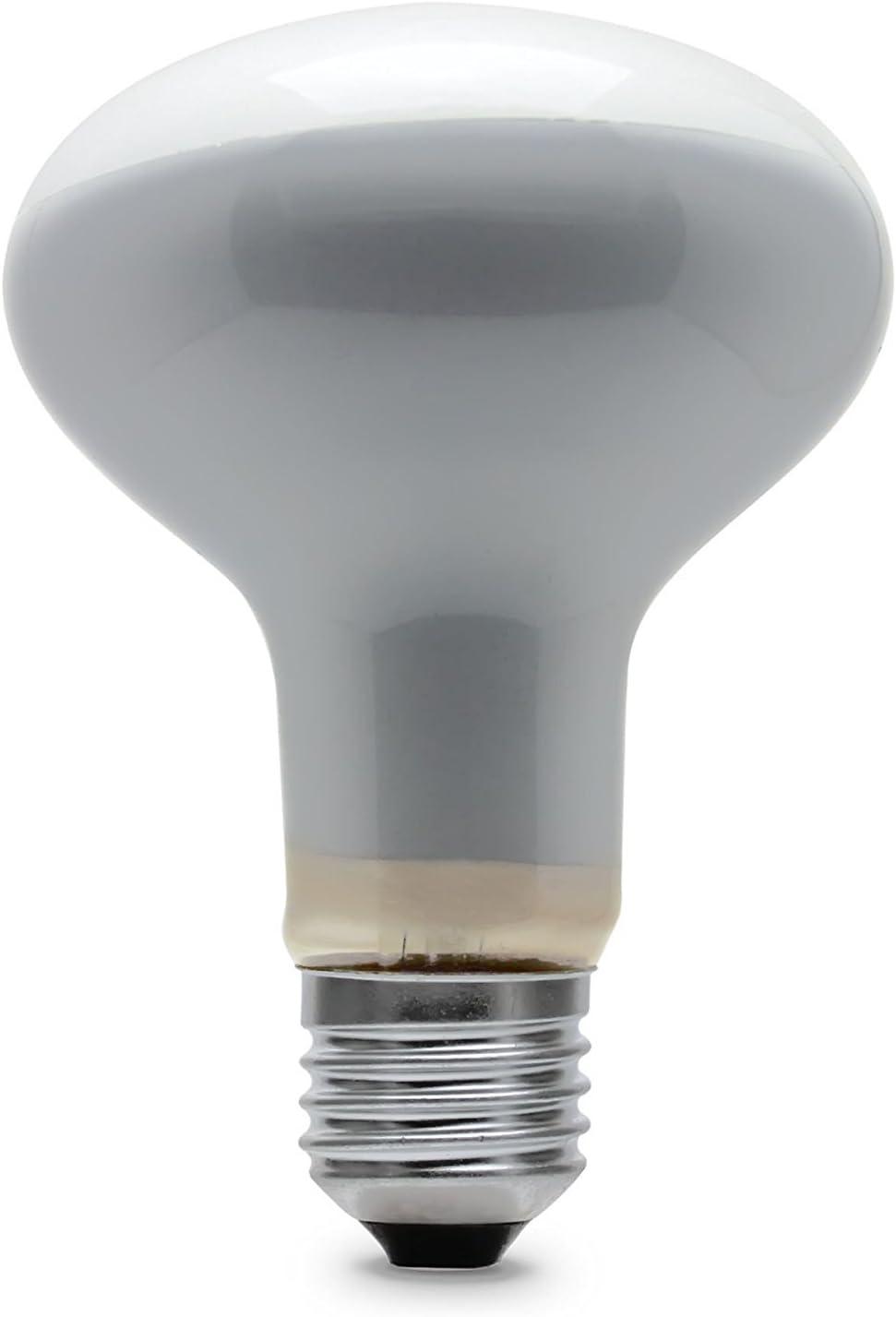 6x 60W Reflector R80 Dimmable Light bulbs lamp BC B22 Bayonet Cap GE Branded